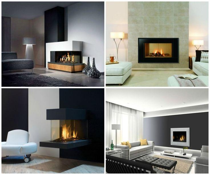les 25 meilleures id es de la cat gorie chemin e l. Black Bedroom Furniture Sets. Home Design Ideas