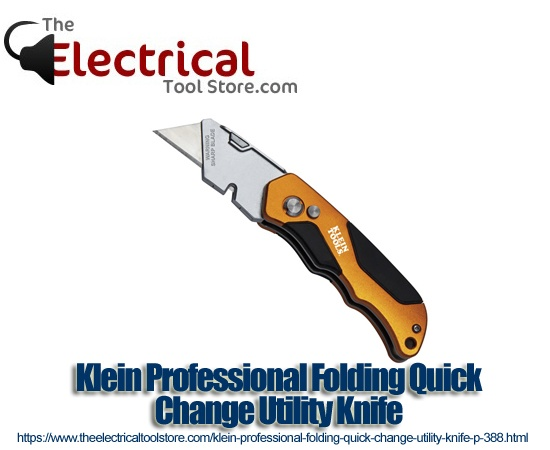 Klein Professional Folding Quick Change Utility Knife