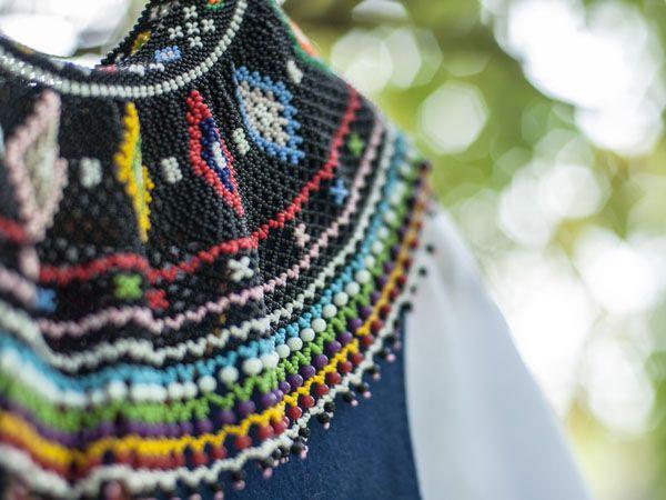 polish traditional, folk beads jewellery krywulka I Piękne krywulki   Festiwal ETNOmania