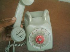 Antiguo Telefono Gris Cantv