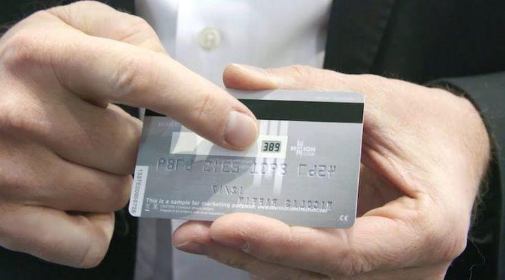 MotionCode Tarjeta Bancaria Inteligente
