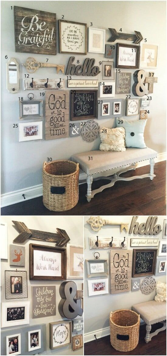 55 Gorgeous DIY Farmhouse Furniture and Decor Ideas For A Rustic Country Home – …
