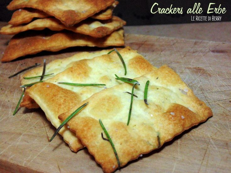 Crackers fatti in casa alle erbe (2)