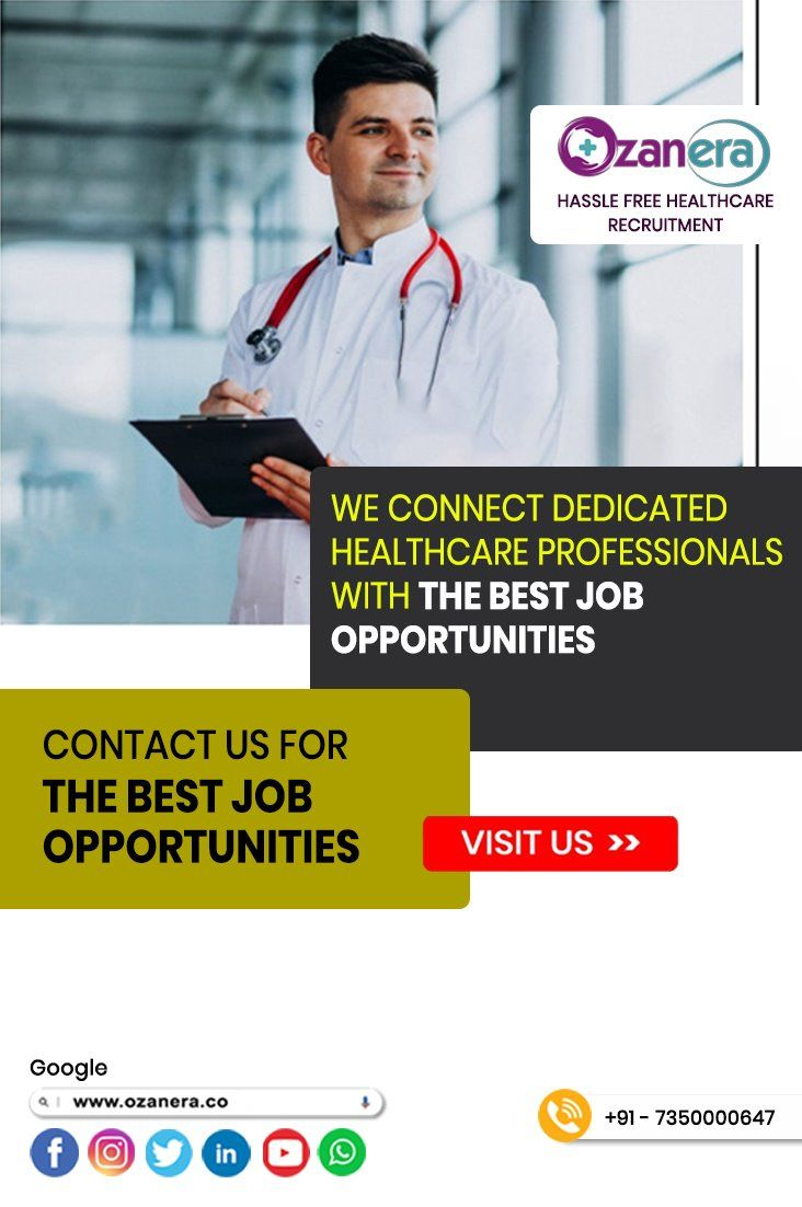 Ozanera Hr Solution Healthcare Jobs For You Careers In The Medical Field Jobs In Hospital Healthcare Jobs Hospital Jobs Healthcare Recruiting