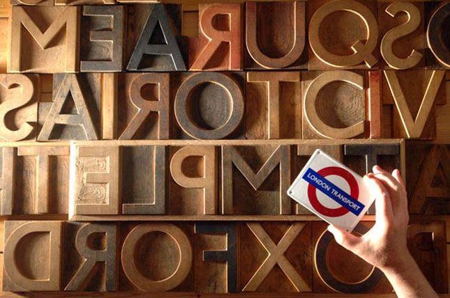 Autographic Typography: Edward Johnston