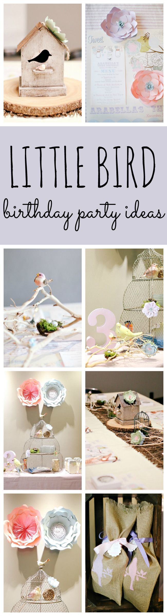 Little Bird Themed Party Ideas | Pretty My Party