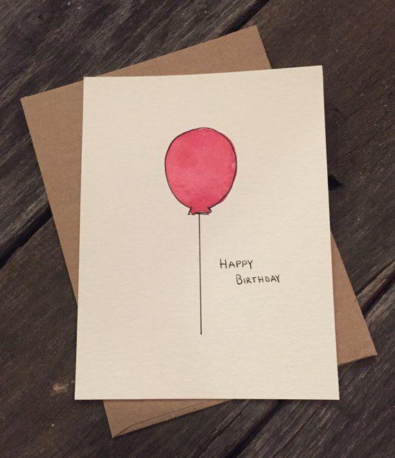 Watercolor Custom Birthday Cards Etsy Birthday Card Drawing Birthday Cards Birthday Card Online