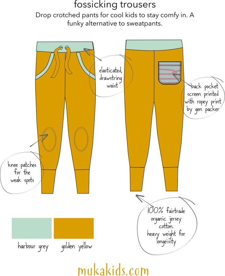 Fossicking Trousers. In fair trade organic cotton.