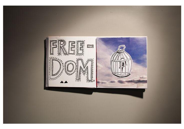freedom #sketchbook
