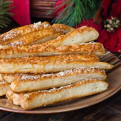 Cheese Sticks (Saratele) - A Romanian bread recipe