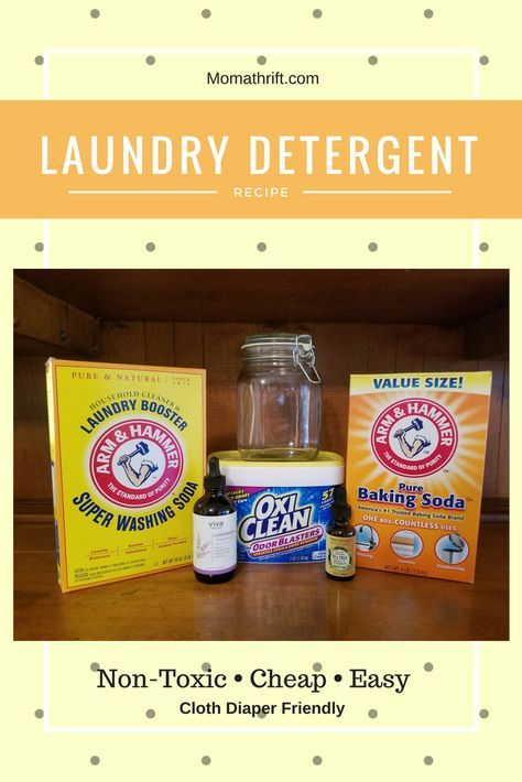 Healthy • CHEAP • Non-toxic • EASY • D.I.Y. • Cloth Diaper Friendly Laundry Detergent Rated A Ingredients that are easy to find.