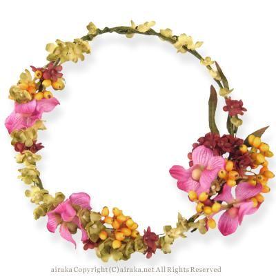 花冠/ModestOriental(モデストオリエンタル) - ウェディングヘッドドレス&花髪飾りairaka