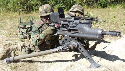 5. XM307 ACSW Advanced Heavy Machine Gun