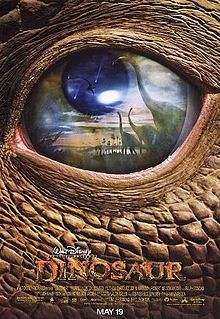 Dinosaur is a 2000 American computer-animated adventure film produced by Walt Disney Feature Animation and released by Walt Disney Pictures on May 19, 2000.