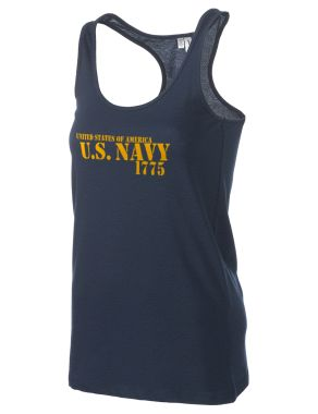 U.S. Navy Women's Racerback Tank
