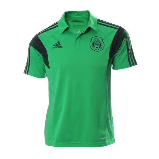 d40ed97bf8f98 Demuestra tu pasión por la Selección Mexicana con tu playera Polo FMF de  Adidas y úsala con orgullo. Con esta increíble pl…
