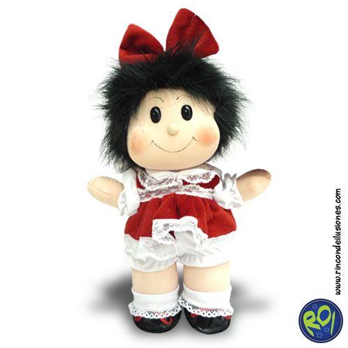 Peluche Mafalda... encuéntrala en nuestros puntos de venta. #peluche #mafalda #personajes #regalos  Número Único: 444 73 42  Si lo quieres dale me gusta!!