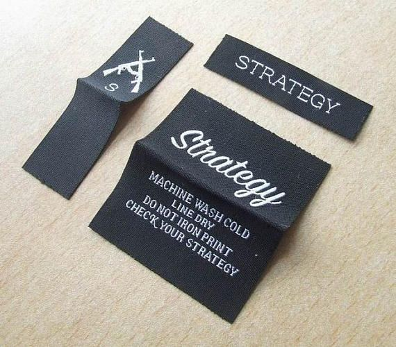 Best Woven Labels Images On   Clothing Labels Custom