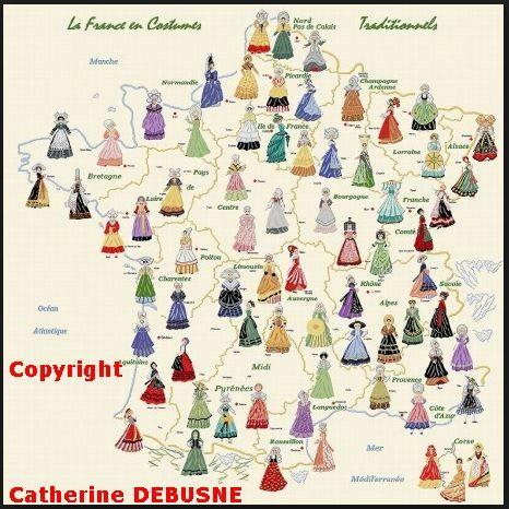 Vous pouvez reproduire cette Carte qui comporte mon Copyright. Seules les boutiques qui la vendent, en kit de broderie, ne mettent pas le copyright dessus, car écrit sur les catalogues. http://www.luc.tm.fr/catalogue/kits-points-comptes/tableau-a-broder-autres-createurs/catherine-debusne