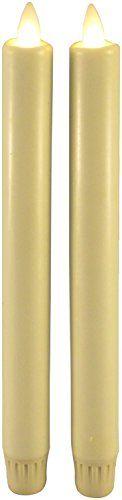"Luminara 8"" Ivory Wax Taper Candles, Set Of 2 Darice https://www.amazon.com/dp/B00OYJBJ1C/ref=cm_sw_r_pi_dp_x_TvojybDJERS8Y"