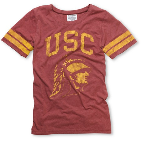 USC Trojans Crew Girls College Football Tee.  How comfortable does this look!