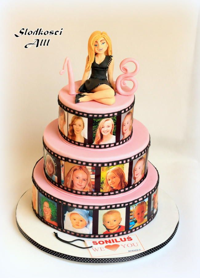 17+ best ideas about 18th Birthday Cake on Pinterest 21 ...