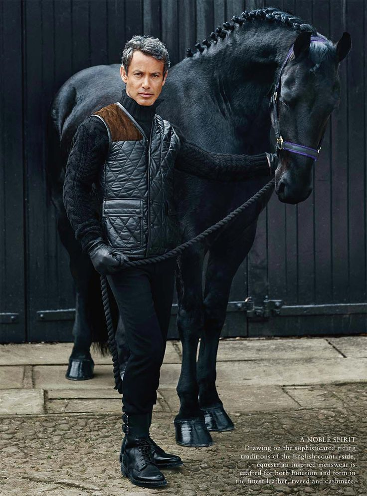 Men and horses, these are two of my favorite things...