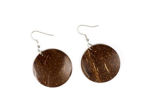 Coconut earrings http://www.etnobazar.pl/search/ca:bizuteria-i-dodatki?limit=128
