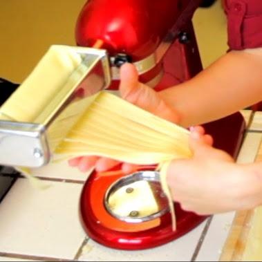 how to make pasta dough with kitchenaid