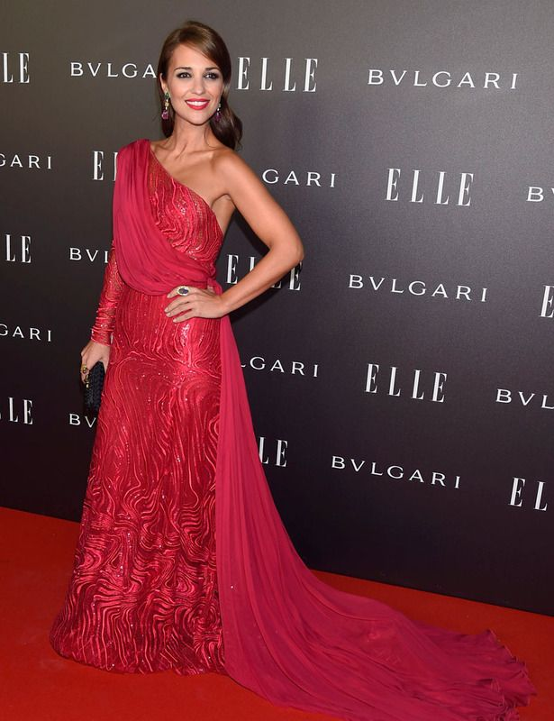Paula Echevarría - Zuhair Murad -ELLE Style Awards 2014