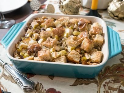 Roasted Chestnut and Apple Dressing Recipe | Trisha Yearwood | Food Network