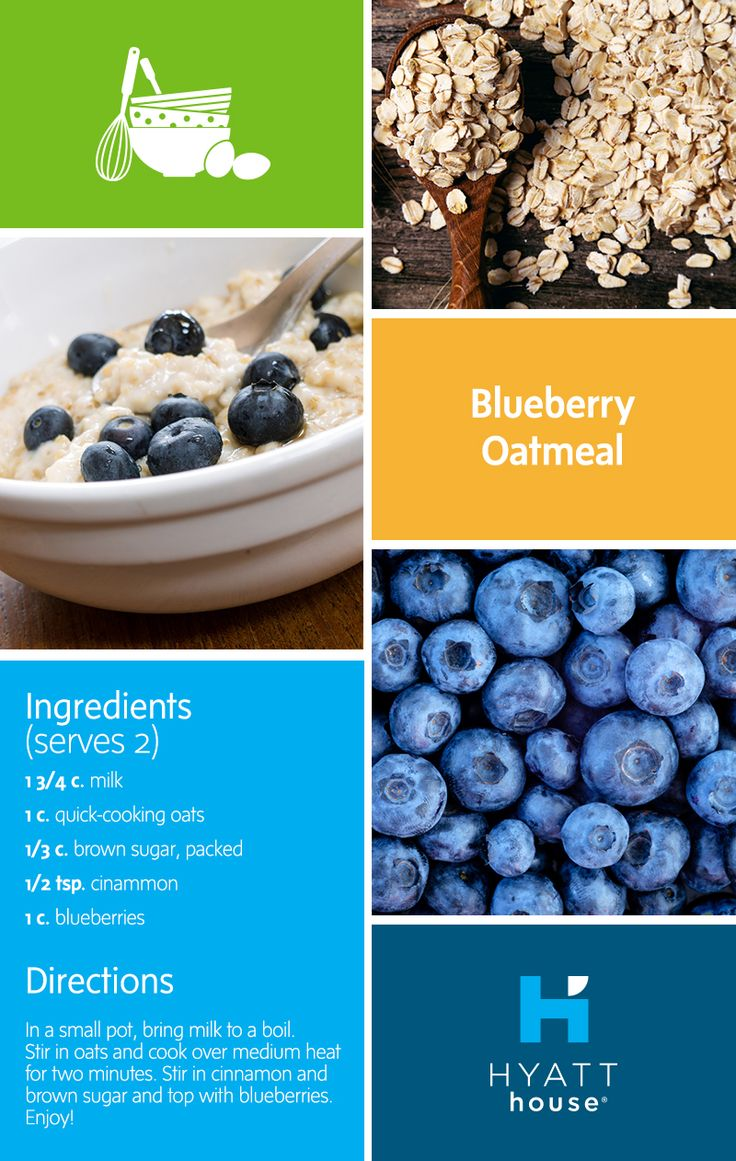 Boost it with blueberries – start your family's day at Hyatt House with this easy, nutrient-packed blueberry oatmeal recipe.