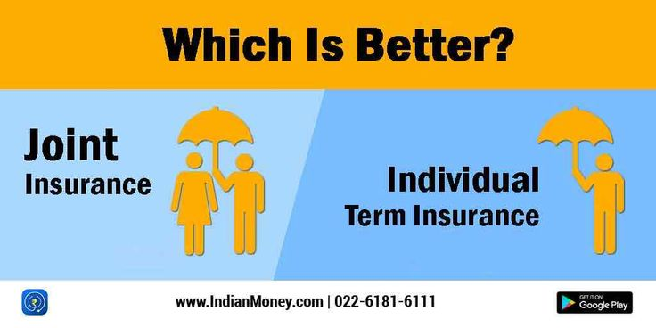 Joint Vs Individual Term Insurance Which Is Better Term