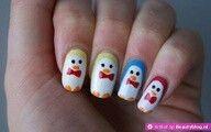 Pinguïn nagels