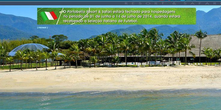 E' il Portobello Safari Resort il quartier generale dell'Italia in Brasile