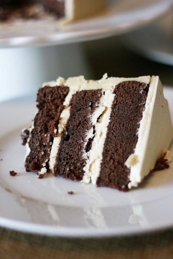 Buttermilk Chocolate Cake with Butterscotch Buttercream   Cake Paper Party