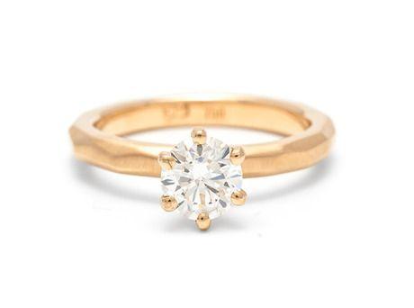 Krista McRae faceted ring
