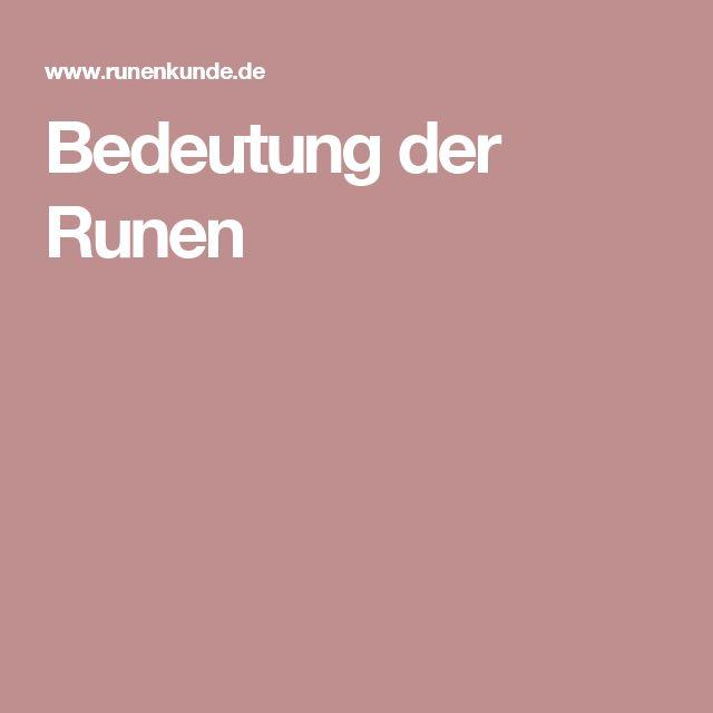 die besten 25 germanische runen bedeutung ideen auf. Black Bedroom Furniture Sets. Home Design Ideas