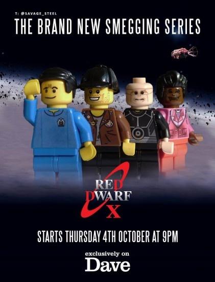 Red Dwarf X in LEGO