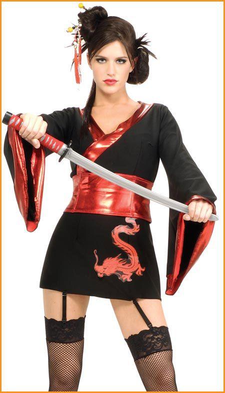 Halloween Costumes Sexy Ninja Costume Womens/Teens HalloweenCostumes4u.com $38.00