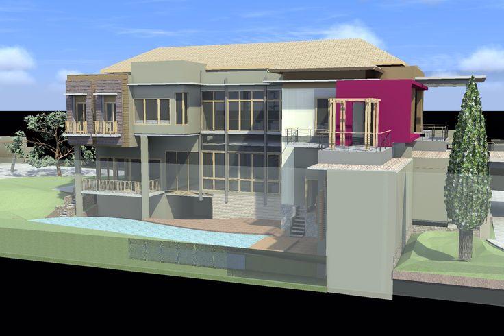 Design, House at Manado.