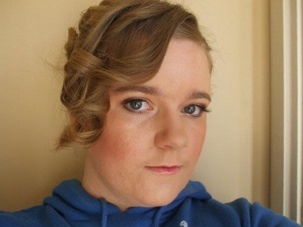 Day two: Pre-grief self portrait. This photo was taken after my makeup trial for my wedding. My hen's night was that night, and unbeknownst to me I had a little Ianto about to attach himself inside me. 8th August 2009.