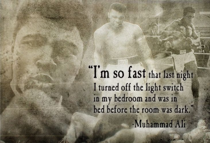 AliTrav'Lin Lights, Lights Switched, The Switched, Muhammad Ali Quotes, Mohammadali, Bedrooms, Ali Sources, Fast, Pictures Quotes