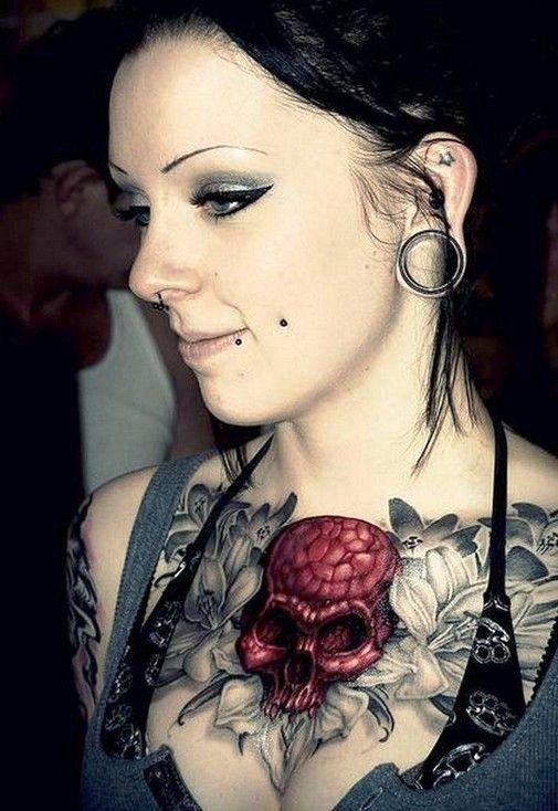 1000+ ideas about Feminine Skull Tattoos on Pinterest ...