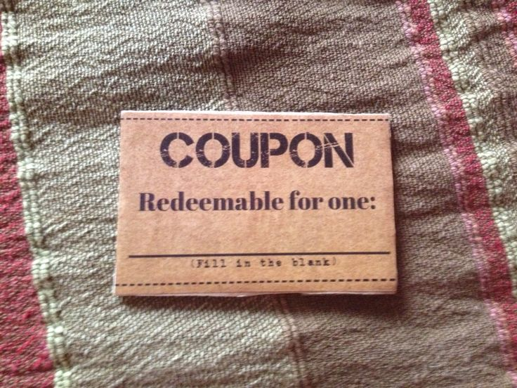 Coupon for xmas