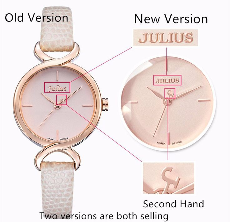 Top Julius Women's Lady Wrist Watch Concise Fashion Hours Dress Bracelet Simple Leather School Lovers Girl Birthday Gift JA-694