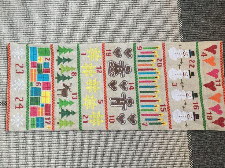 Julekalender til Birk. Mønster: Fru Zippe