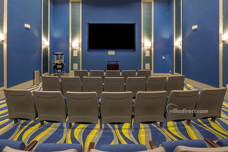 No need to spend at the cinema when Champion's Gate Resort has one in-house: https://www.villadirect.com/orlando-communities-resorts/ChampionsGate.html