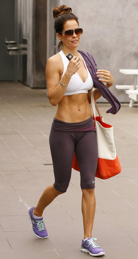 Damn...Miss Brooke Burke is fitter at 40, than most 20yr old's i know...