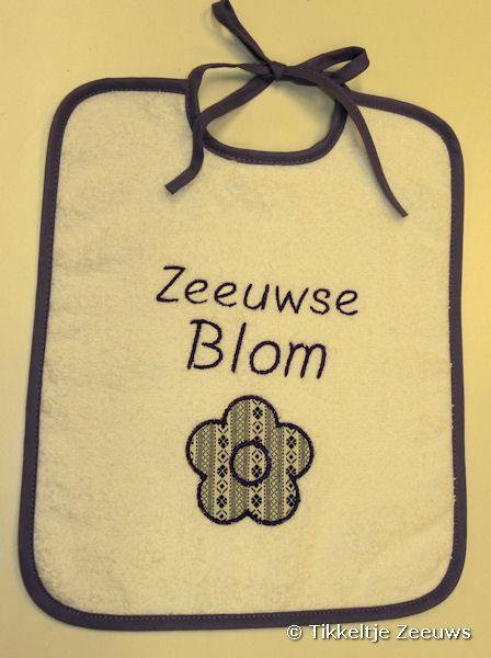 Slabbetje: Zeeuwse Blom -